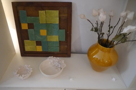 exposição de ceramica