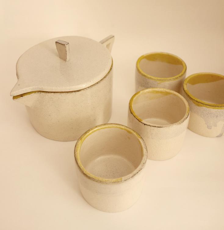 TeaPot+4cups