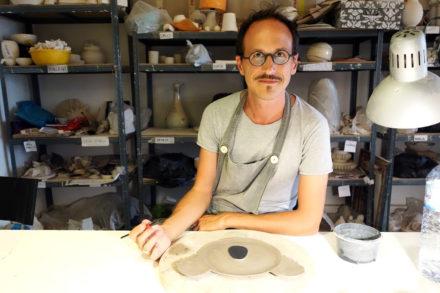 Vincent Richeux, cerâmica, caulino ceramics, ceramics, ceramics Lisbon, ceramics studio Lisbon