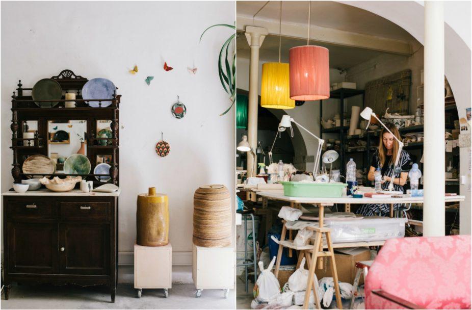 caulino ceramics, ceramics shop Lisbon , ceramics studio Lisbon