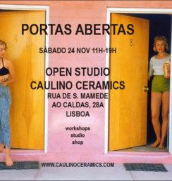 Caulino ceramics, cerâmica, Lisboa, Lisbon cerâmica, cerâmica studio Lisbon