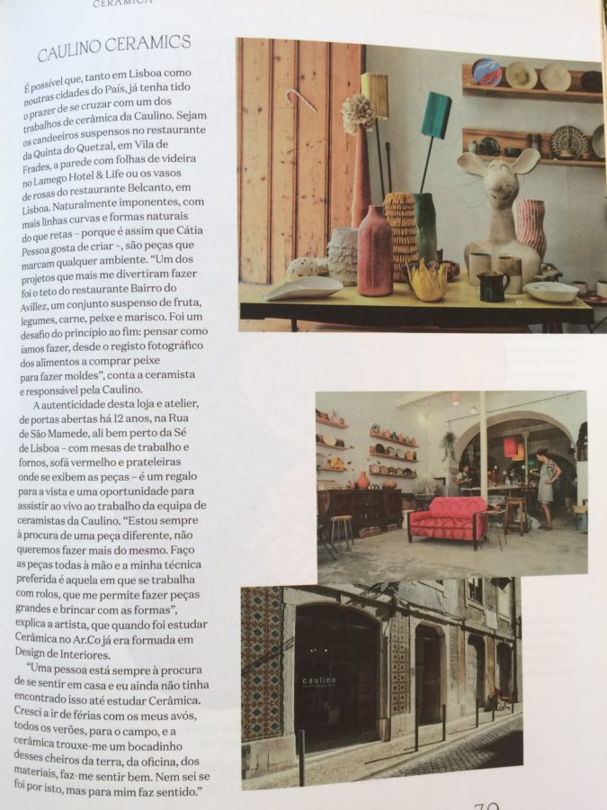 caulino ceramics, ceramics studio Lisbon, ceramic workshops Lisbon, cerâmica